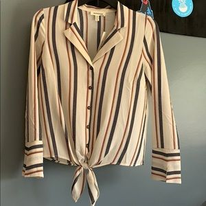 Dressy button up blouse